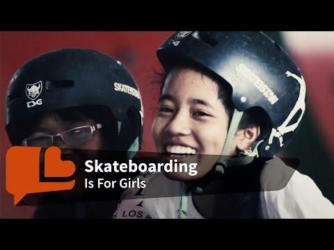 Skateboarding like a Girl