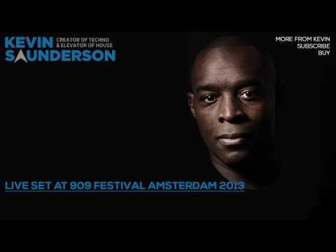 Kevin Saunderson - Live Set at 909 Festival Amsterdam 2013