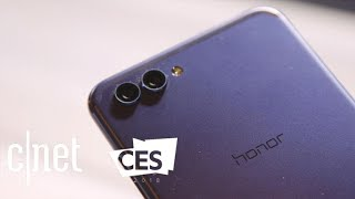 Huawei Honor View 10 hands-on at CES 2018