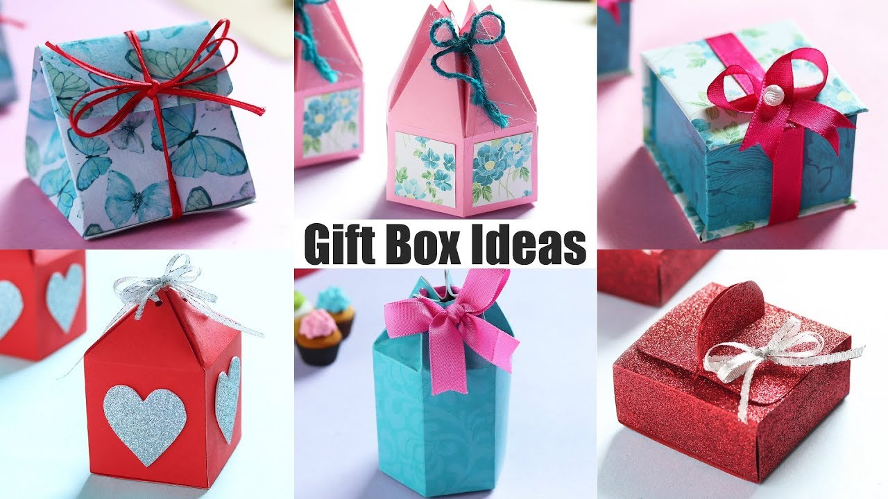 DIY Gift Box Ideas | Gift Ideas | Paper Craft