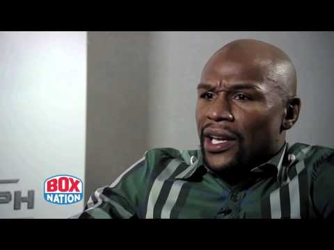 Exclusive Floyd Mayweather interview with BoxNation before Berto fight