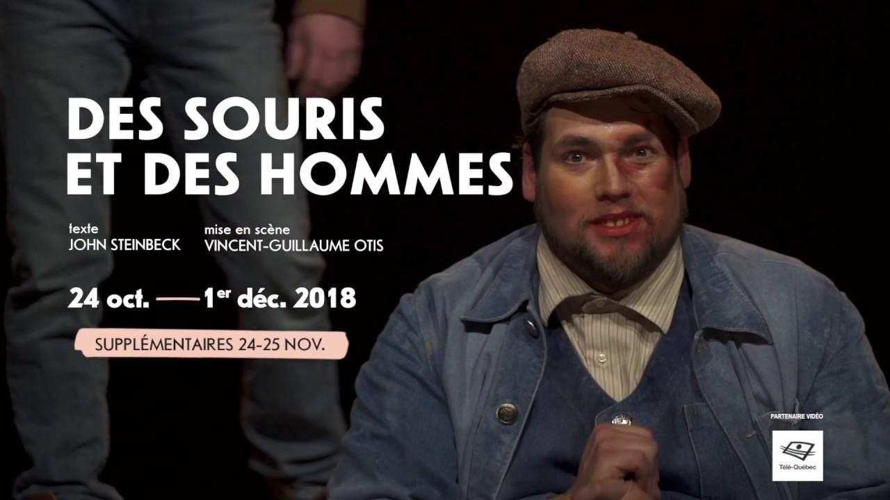 DES SOURIS ET DES HOMMES — Extraits du spectacle