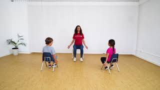 Chair Yoga Class for Stress Reduction: Grades Pre K - K