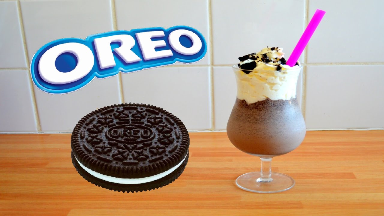 how to make a simple oreo milkshake