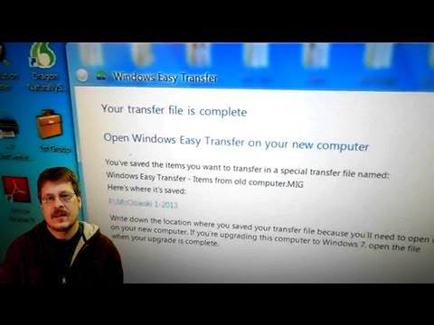 How To Save Your Computer Data Using Microsoft Windows Easy Transfer