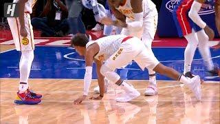 Trae Young's Wild 4-Point Play! Hawks vs Pistons | October 24, 2019 | 2019-20 NBA Season