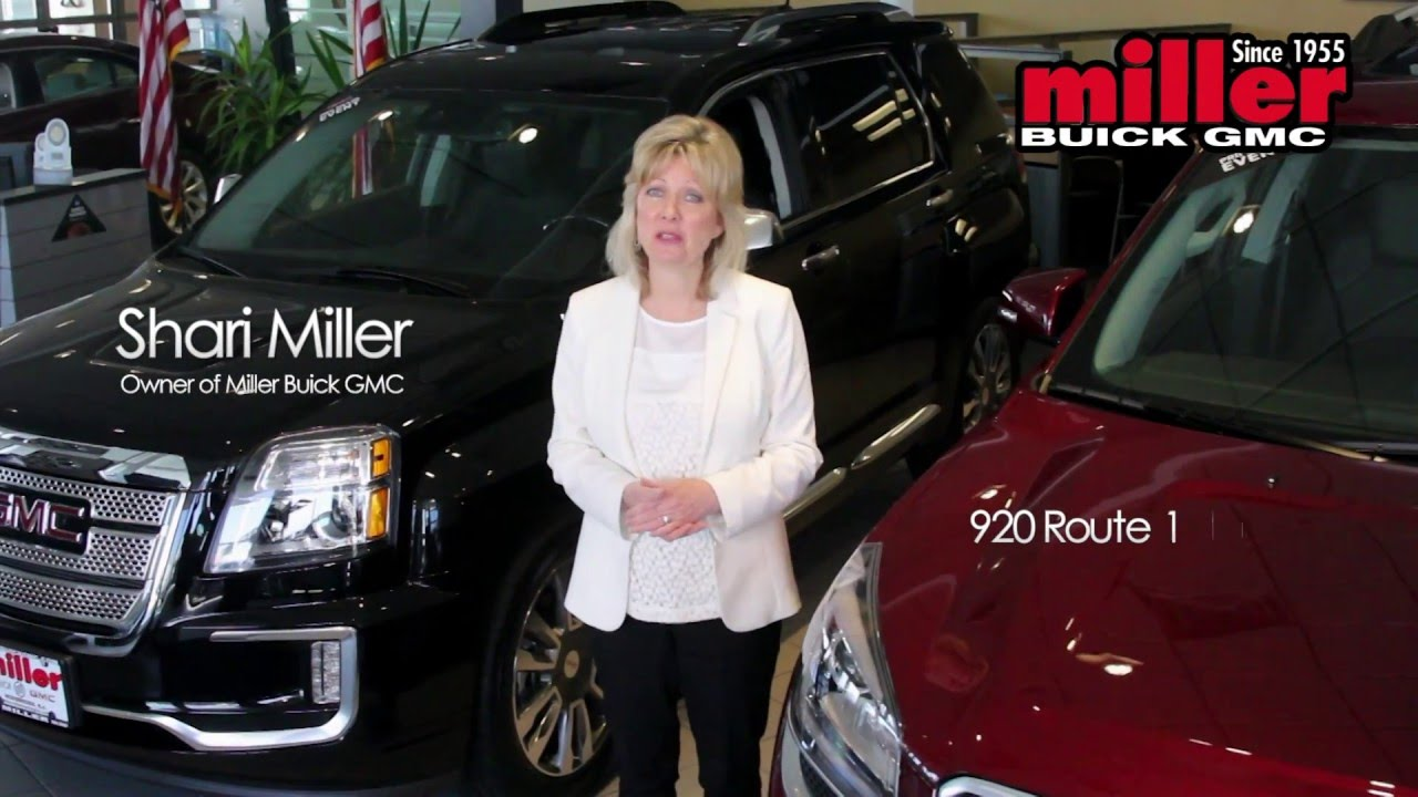 Miller Buick GMC In Woodbridge TV Commercial Starring Shari - Buick dealership nj
