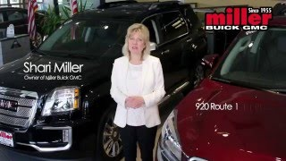 Miller Buick GMC in Woodbridge - 2016 TV Commercial starring Shari Miller