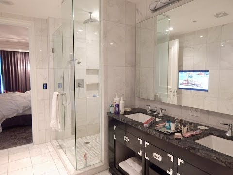 """Trump Hotel ""  Toronto  Grand Deluxe 1 Bedroom King Quick Walk Through, Forbes Five Star Hotel!!!"