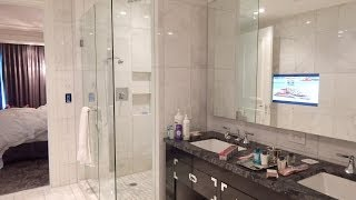"""""""The Adelaide Hotel """"  Toronto  Grand Deluxe 1 Bedroom King WalkThrough, Forbes Five Star Hotel!!!"""