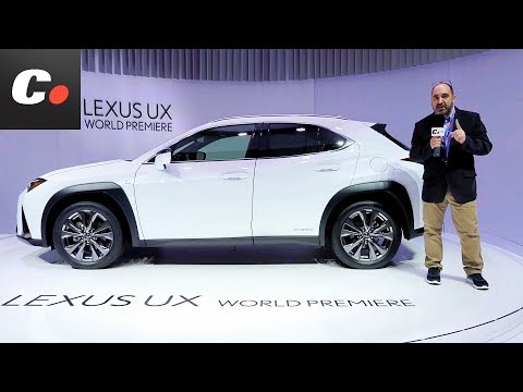 Lexus UX SUV | Salón de Ginebra 2018 | Geneva Motor Show en español | coches.net