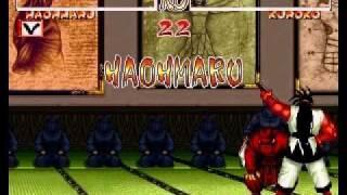 Samurai Shodown 2 HAOHMARU Arcade run (parte 1).