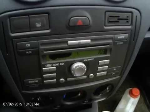 Как снять штатную магнитолу на форд фьюжн