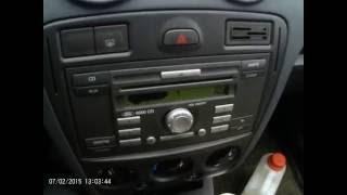 видео как разблокировать магнитолу форд 6000cd