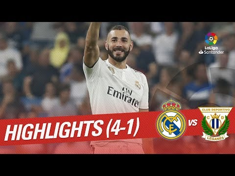 Highlights Real Madrid vs CD Leganés (4-1)