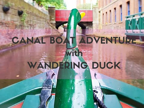 MANCHESTER Canal Boat Adventure with Wandering Duck! | HOSTEL REVIEW TRAVEL VLOG