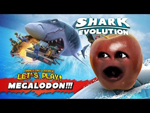 Midget Apple Plays - Hungry Shark Evolution: MEGALODON
