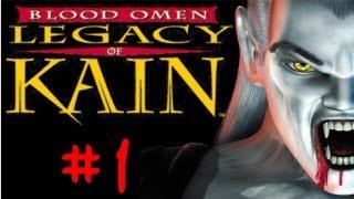 Zagrajmy w Legacy of Kain: Blood Omen  (#1) Kain Łaknie Krwi -[Gameplay PL / Let