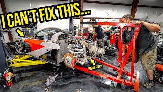 Removing My 800-HP Rotary Engine Revealed A BIG PROBLEM I CAN'T FIX (What Should I Do?)