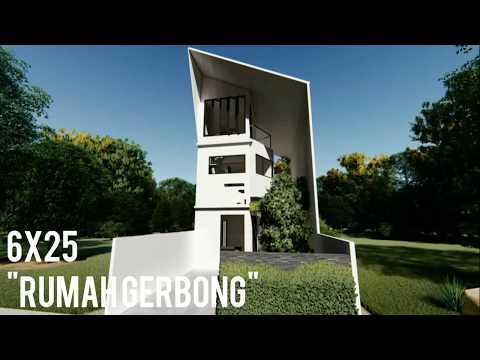 rumah-6x25.-konsep-semi-terbuka-dengan-rooftop,musholla-dan-halaman-belakang-luas