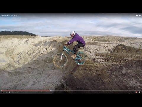 Freeride VS street bikes