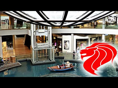 Luxury Shopping Center in Singapore