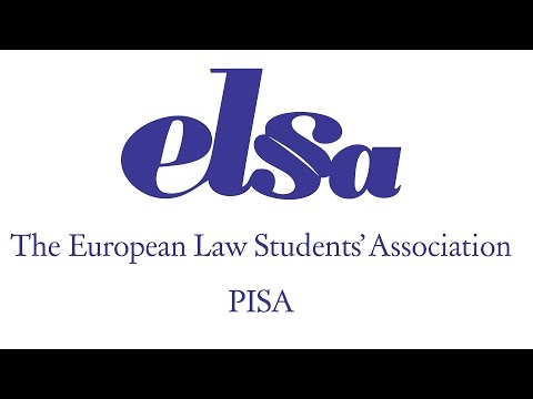 ELSA Pisa - The European Law Students' Association