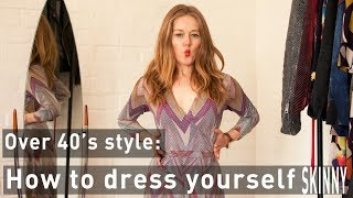 How to dress yourself skinny for women over 40 - how to dress 10 pounds slimmer