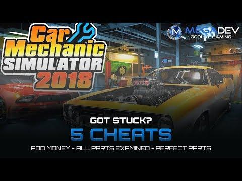 Car Mechanic Simulator 2018 Trainer + Cheats