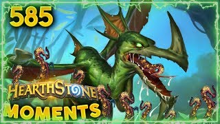 You Saw Nothing Like This! (Weird Interaction!) | Hearthstone Daily Moments Ep. 585