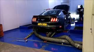 All Motor UK Spec  Mustang GT OCUK DYNO run 2016