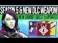 Destiny 2 | NEW DLC WEAPON & HUGE UPDATE! Season 5 Quest, Exclusive Weapon, Gambit Updates & Reveal!