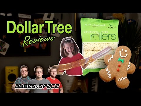 dollar-tree-reviews---gibgerbread-oil,-rocket-balloons,-crunchy-rice-rolls---dudes-n-space