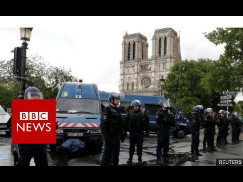 "Paris's Notre-Dame Attack: Man shouted ""This is for Syria"" - BBC News"