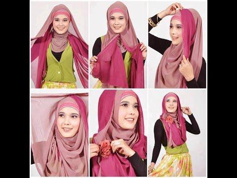 Hijab Tutorial cantik dan mudah