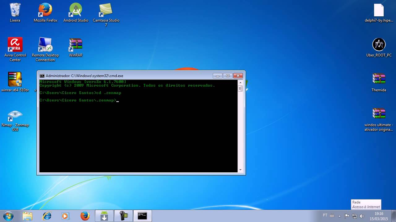 Windows command prompt nmap - Como Instalar O Nmap No Cmd Do Windows