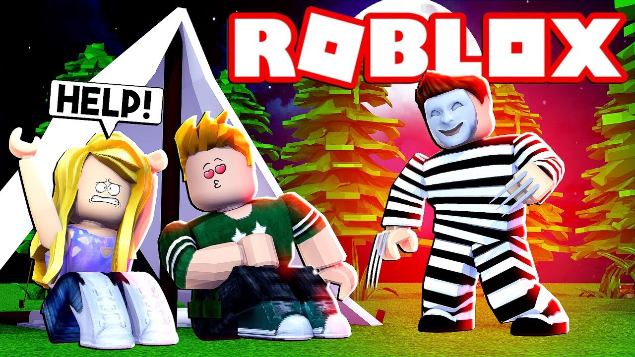 ROBLOX ONLINE DATING CAMPING GOES BAD - YouTube