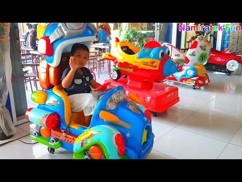 Kiddie Rides a lot of Odong Odong Power Wheel Car Toys, Shape Cute Animal & Cute Plane