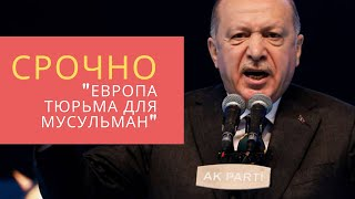 Эрдоган удивил всех правдой о Европе для мусульман