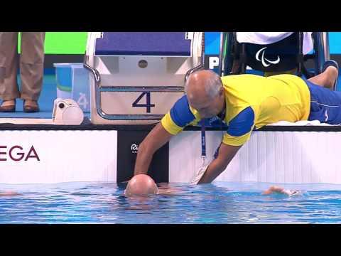 Swimming   Men's 100m Backstroke S1 final   Rio 2016 Paralympic Games