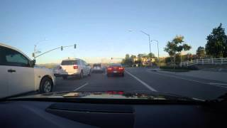Audi B8.5 S4 normal drive home in race mode with Armytrix Valvetronic Exhaust - California