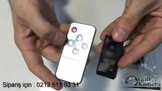 8 Saat kayıt yapabilen Mini Gizli Kamera