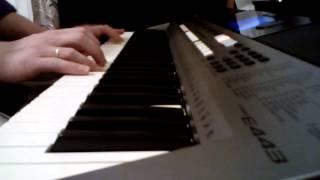 """Мелодия из программы """"В мире животных"""" на YAMAHA PSR-E443."""