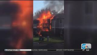 Neighbors Thankful For CSFD Response To Apartment Fire
