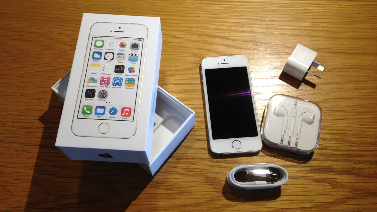 iPhone 5S Unboxing Video - YouTube