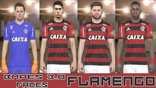 PES 2018 - BMPES 3.0 - TODAS FACES FLAMENGO - PC