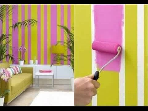 Easy wall painting ideas - YouTube
