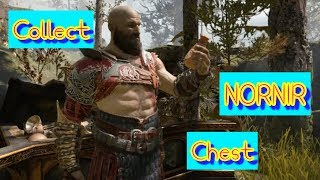 Try to collect the NORNIR Chest ¦ God Of War 4 ¦ PS4 - by NS