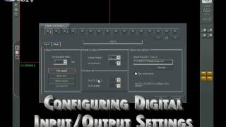 Configure Input Output Settings on Alnet Home or Business Security Camera DVR Cards