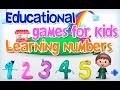 Learning numbers. Learning To Count. Educational games for kids